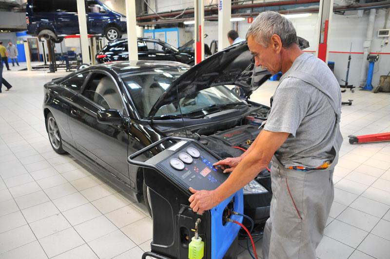 ремонт кондиционеров в автомобиле